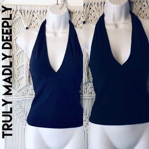Bundle of two cotton layering halter tops
